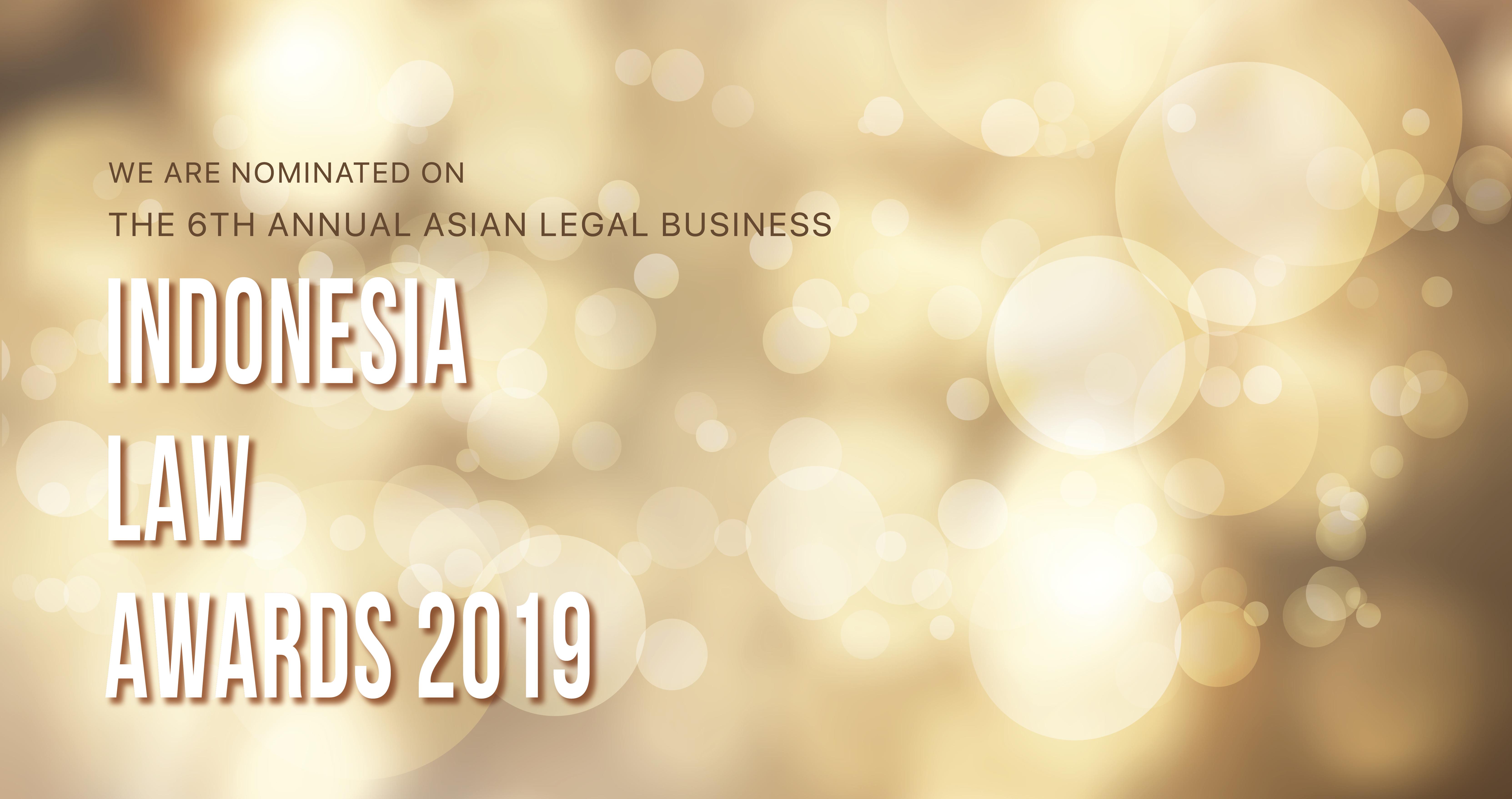 SIP Law Firm Menjadi Finalis ALB Indonesia Law Awards 2019